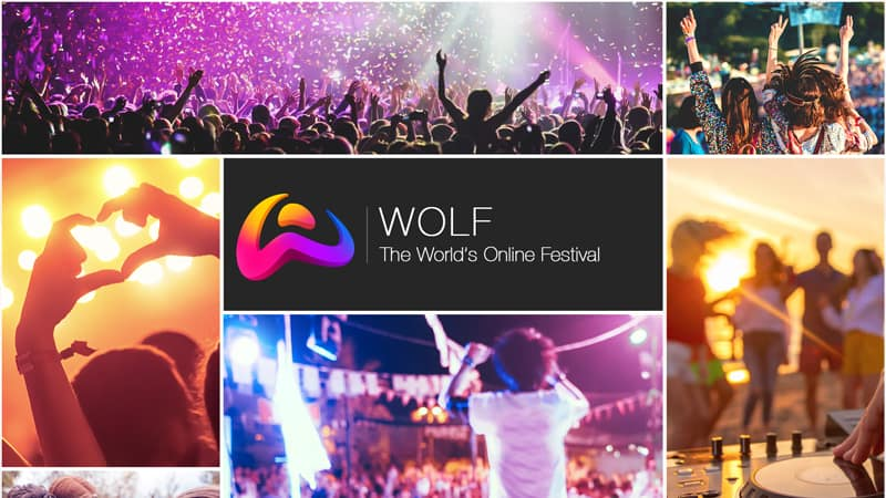 What is WOLF? Live audio entertainment, Groups, Games, Blog & Charity campaigns
