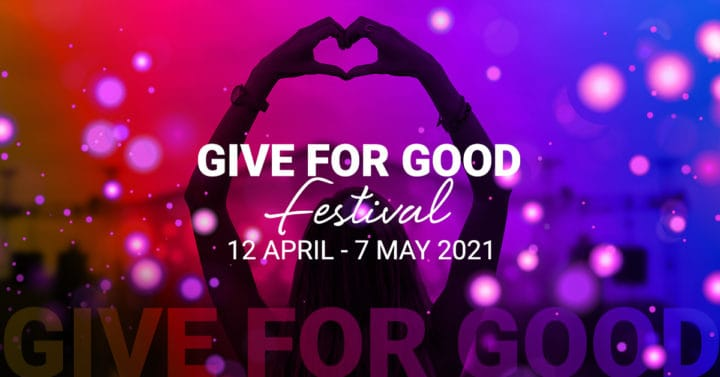 The Give For Good Festival: Charities